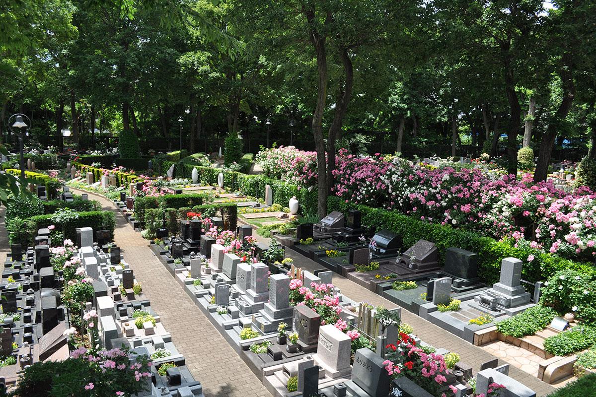 花と緑あふれる園内