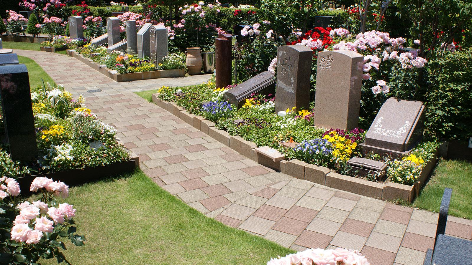 洋風デザイン墓所