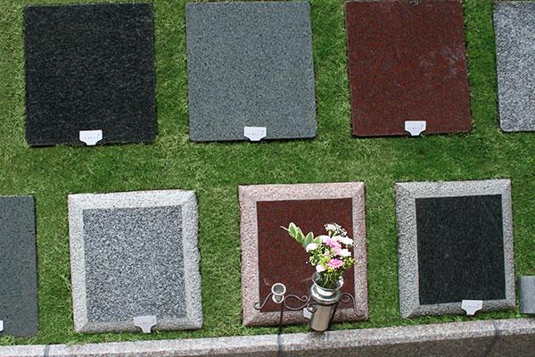 プレート墓石タイプ 「憩(いこい)」