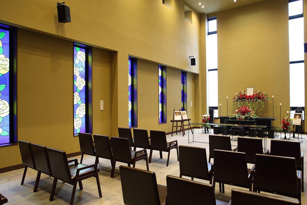 大型多目的ホール「ホールロゼリア」