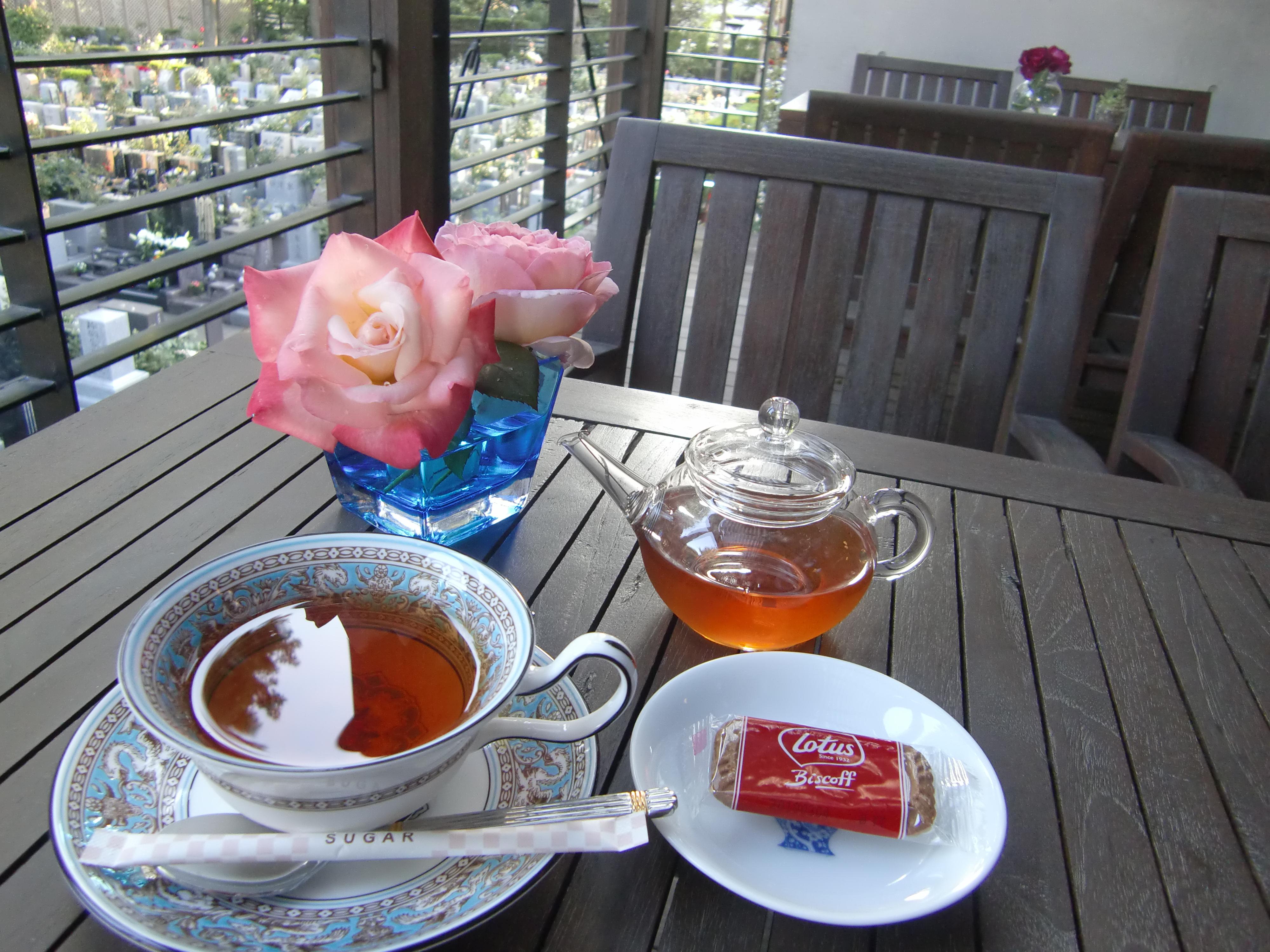梅雨の到来。そして紅茶