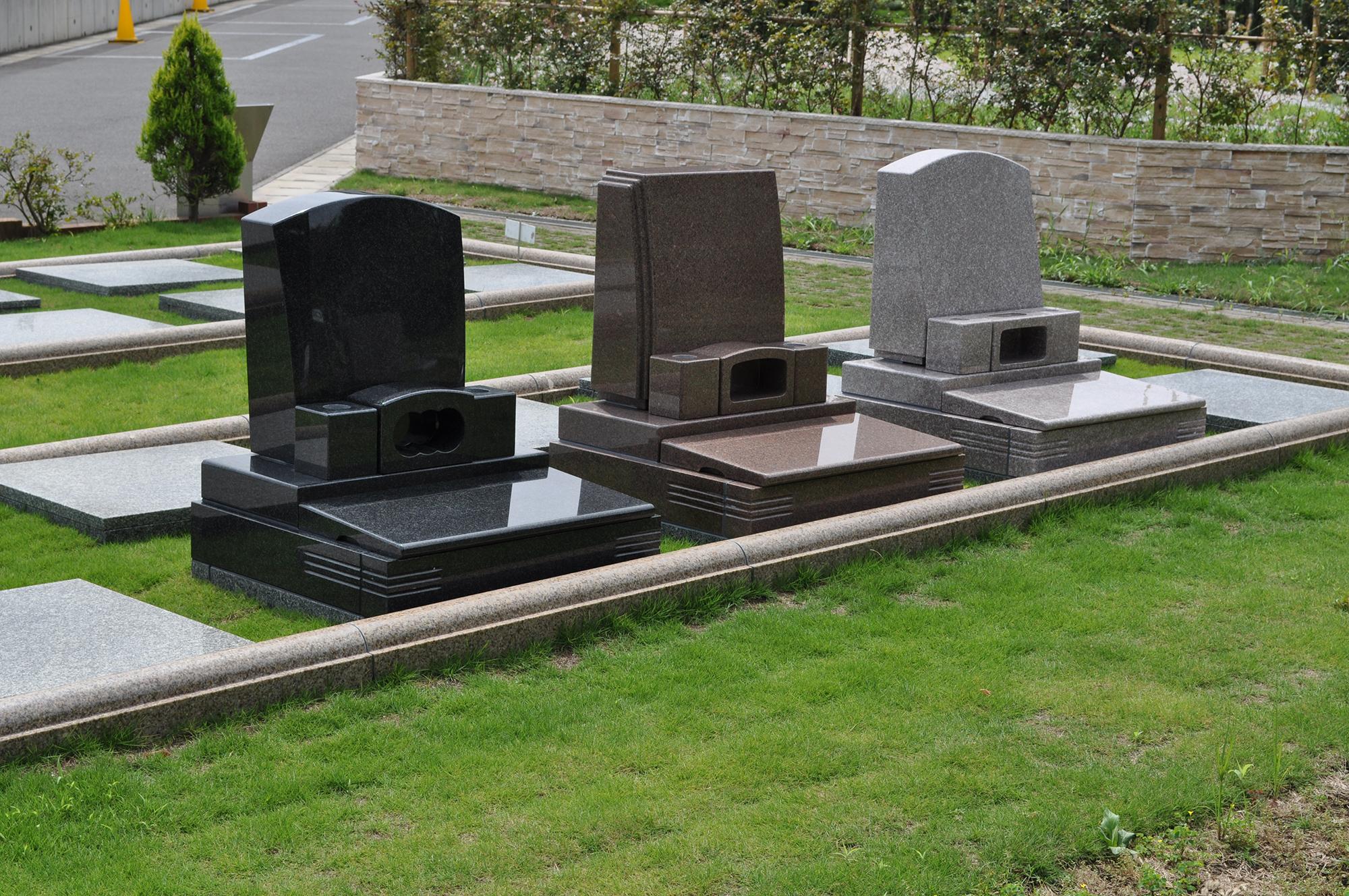 芝生 墓所